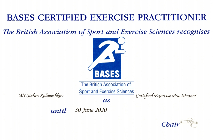 The Certified Exercise Practitioner qualification