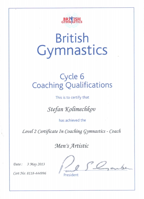 UK Coaching Qualification