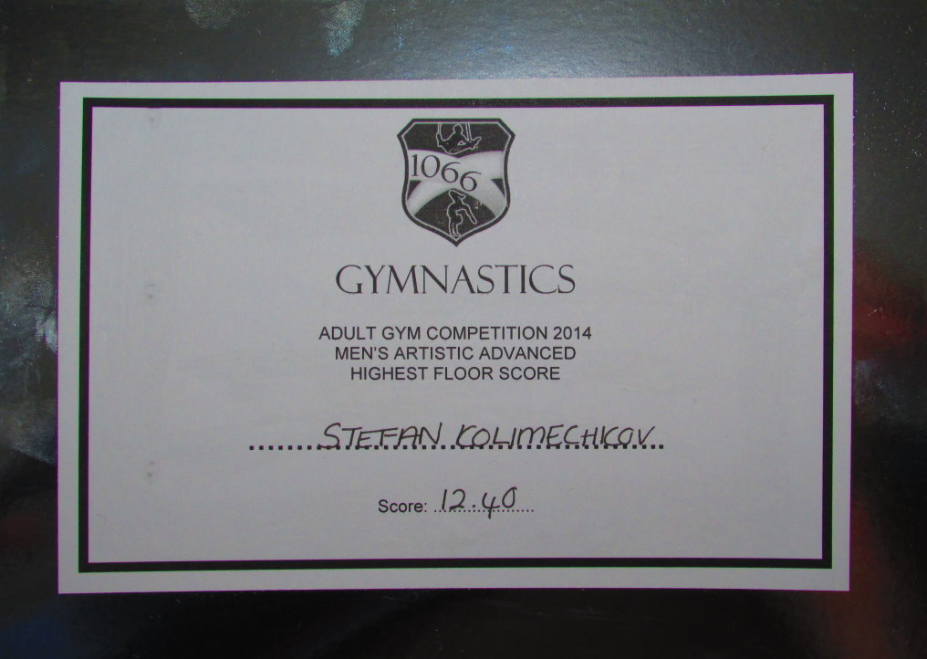 1066 Gymnastics Academy 2014 Competition