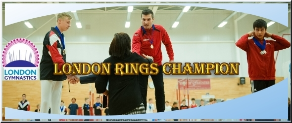 London Gymnastics - Rings Champion