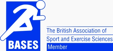 Member of the The British Association of Sport and Exercise Sciences