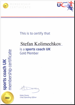 UK Coaching - Stefan Kolimechkov