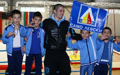 Gymnastics Club Levski Boys Squad