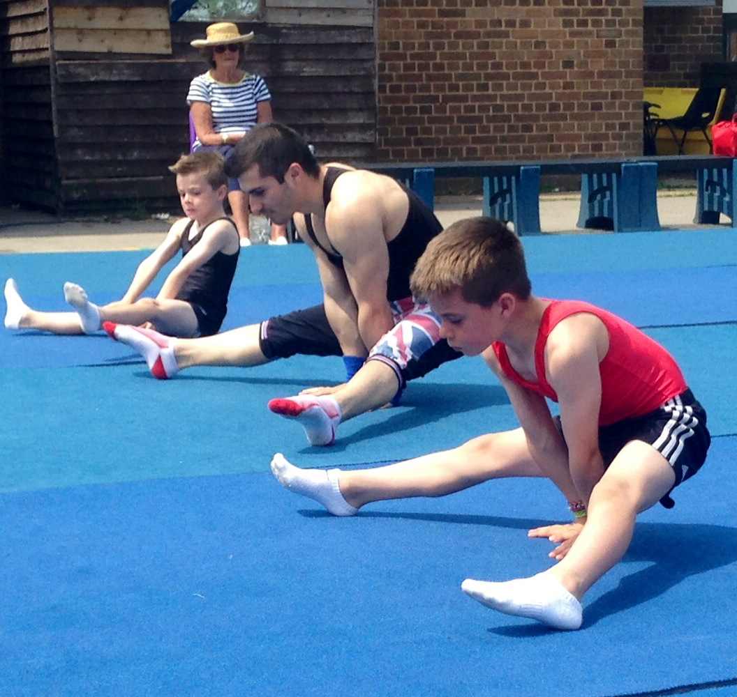 Gymnastics at Grange Park School