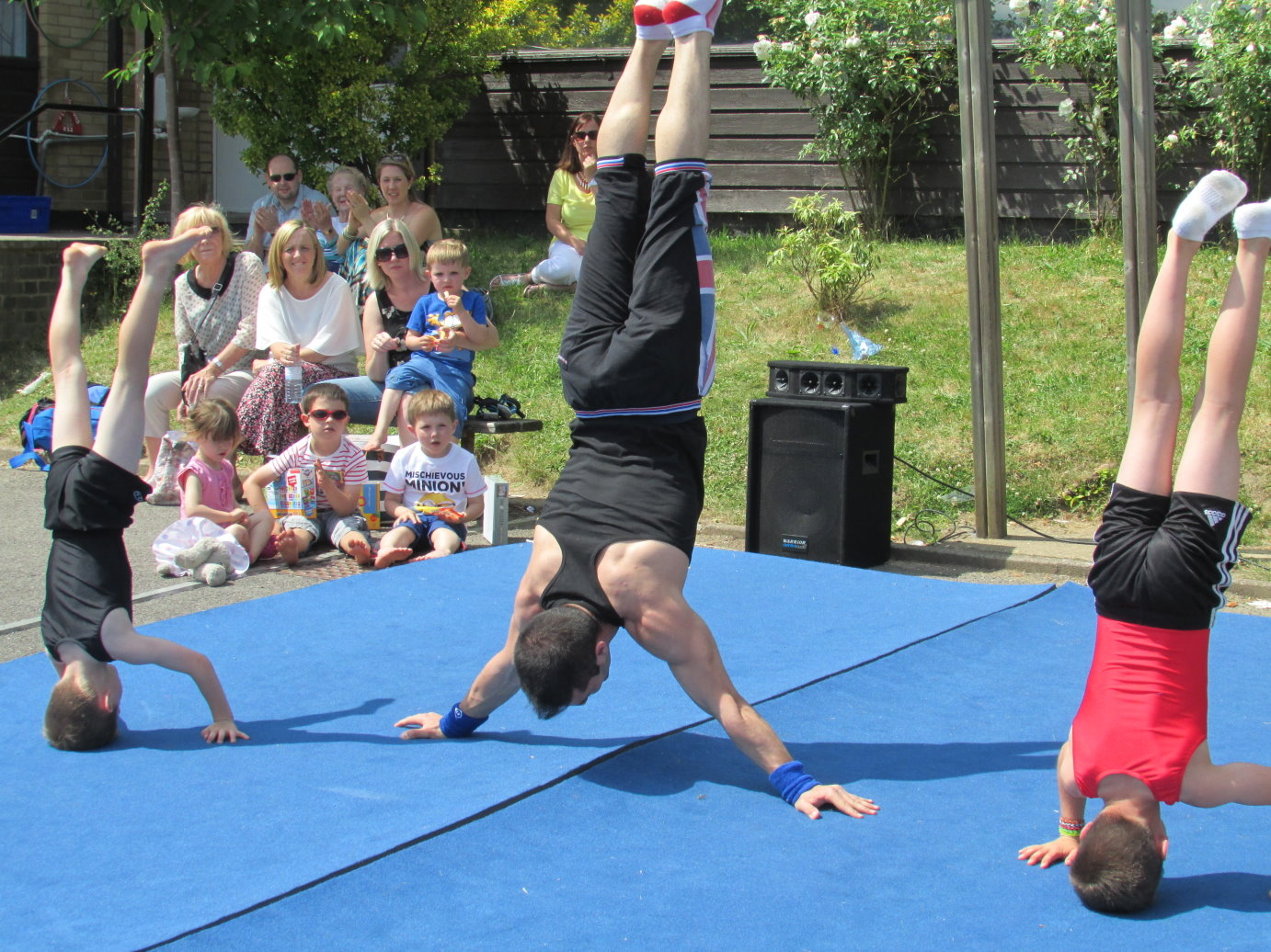 Gymnastics at Hadley Wood in London 3