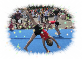 Hadley Wood Primary School Summer Fete - Gymnastics