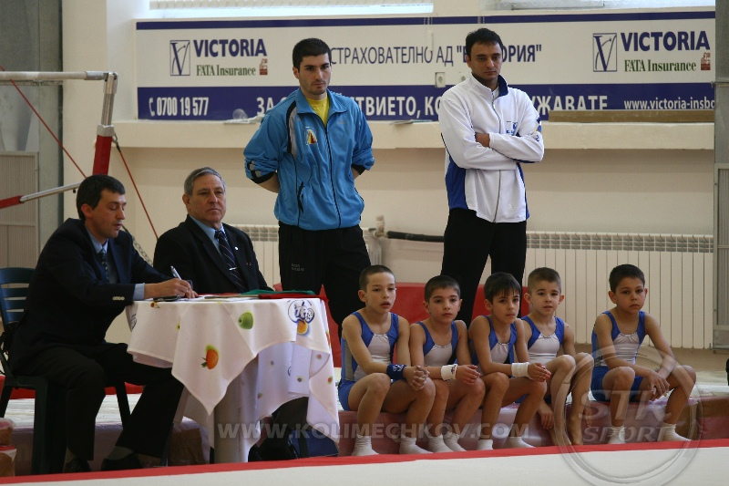 National Gymnastics Championships in Sofia - I stage