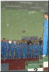 Gymnastics Tournament 2006 Awarding ceremony