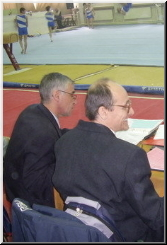 The Judges on Rings at the Bulgarian Cup 2007