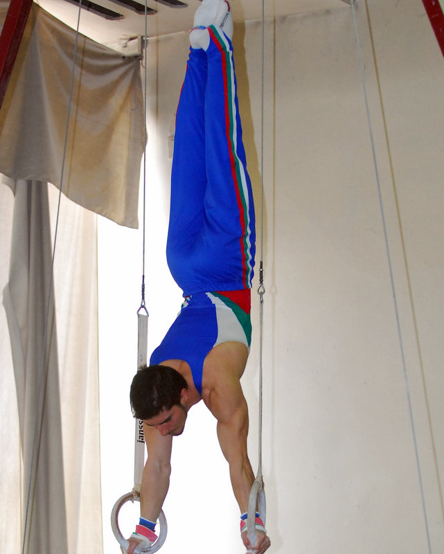 A-Gym GC - Handstand on Rings