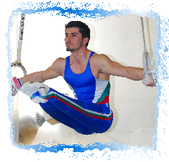 Stefan Kolimechkov at the Bulgarian Gymnastics Cup 2008