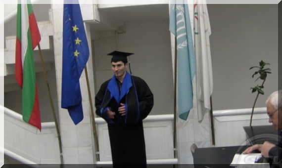 Stefan Kolimechkov - BA Degree in Sport Science and Physical Education