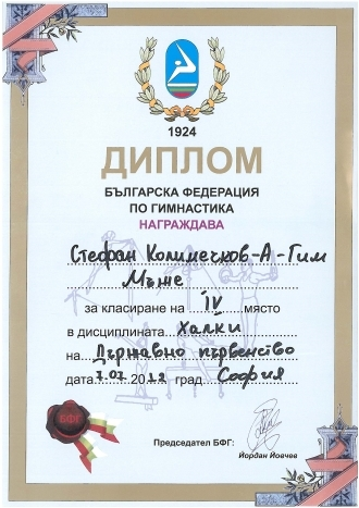 Stefan's Certificate on Rings