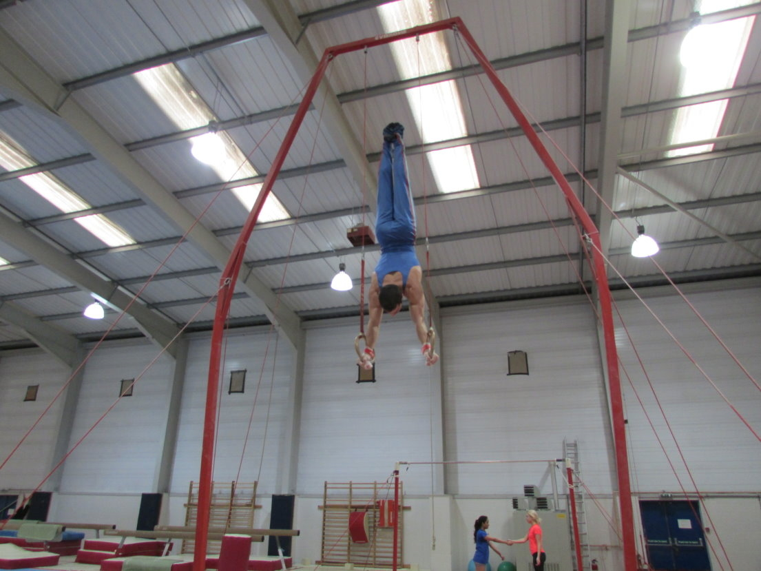 Handstand on Rings
