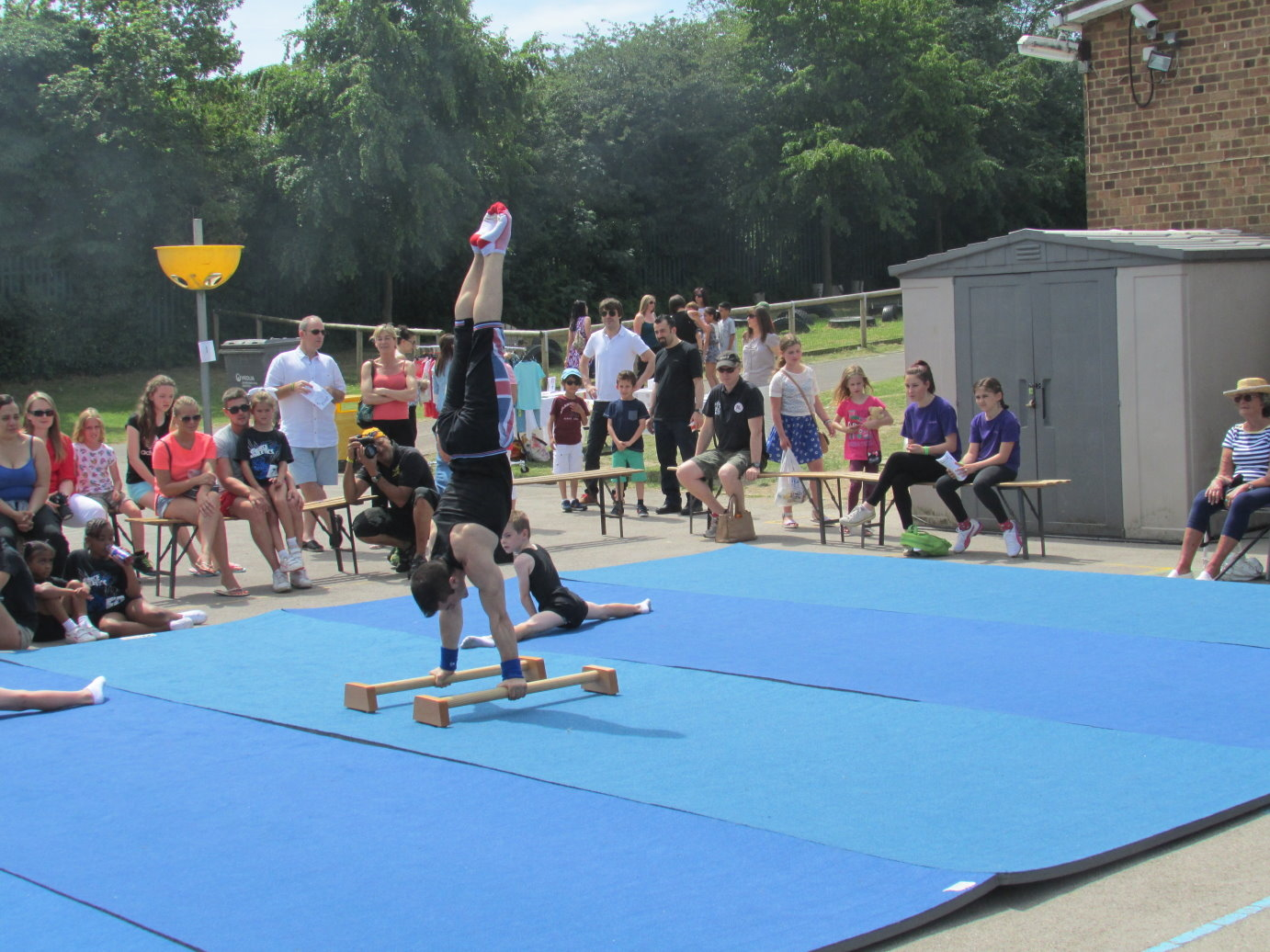 Coach Stef on Handstand - Grange Park School