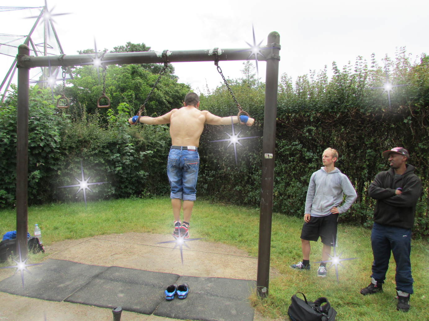 First Cross at the Street Workout London