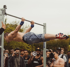 Back Liver at the Street Workout London