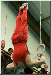Rings Routine at Sutton Gymnastics Academy