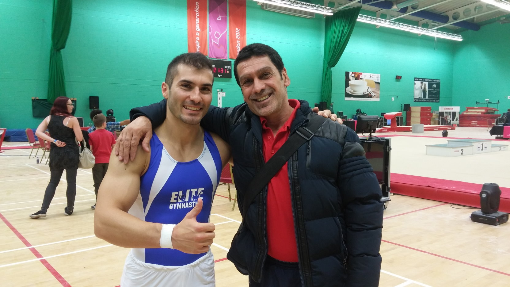 Elite Gymnastics Academy at the Men's London Open 2015