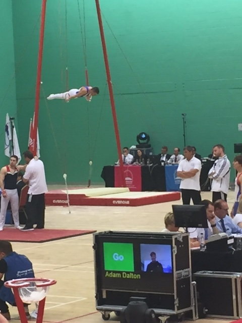 Maltese Cross on Rings - London Open 2015