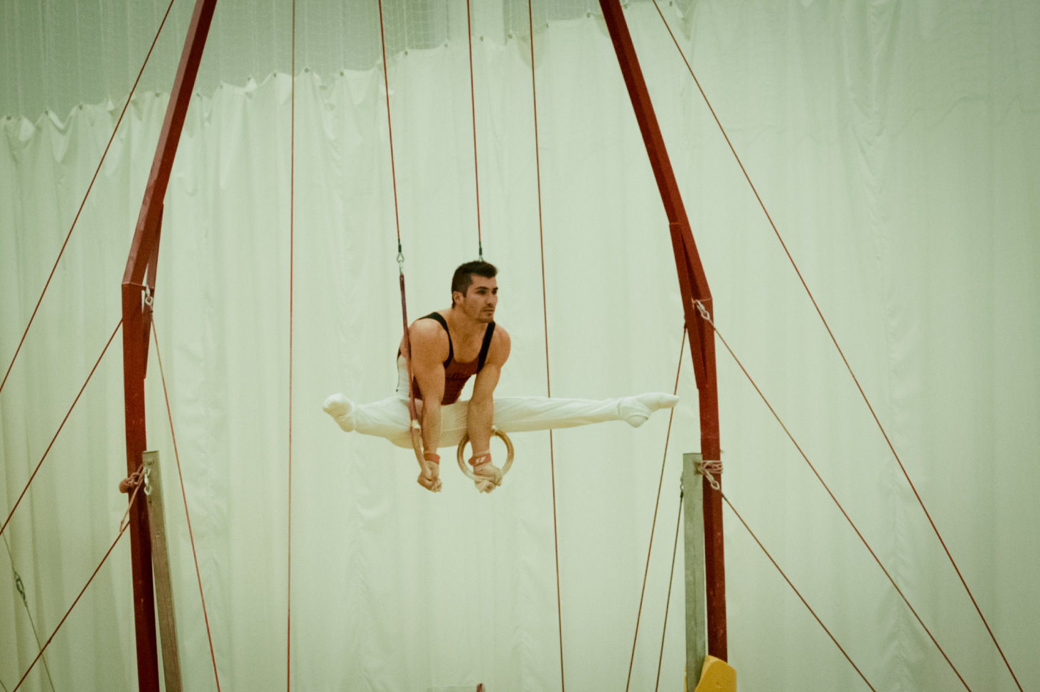 Stefan at the Europa Gymnastics Centre