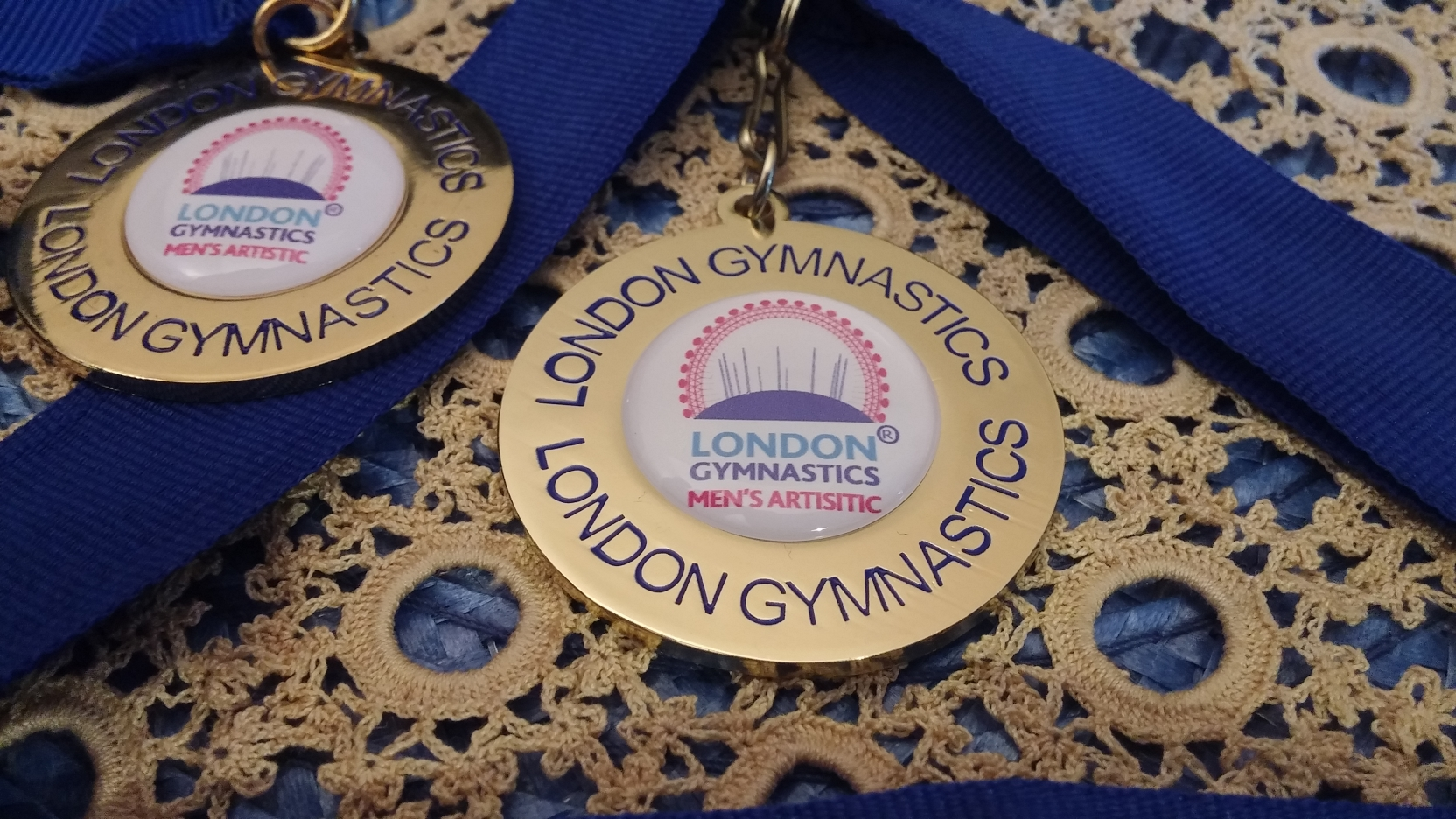 Here are the two Gold medals from the 2015 and 2016 london Regional Challenge