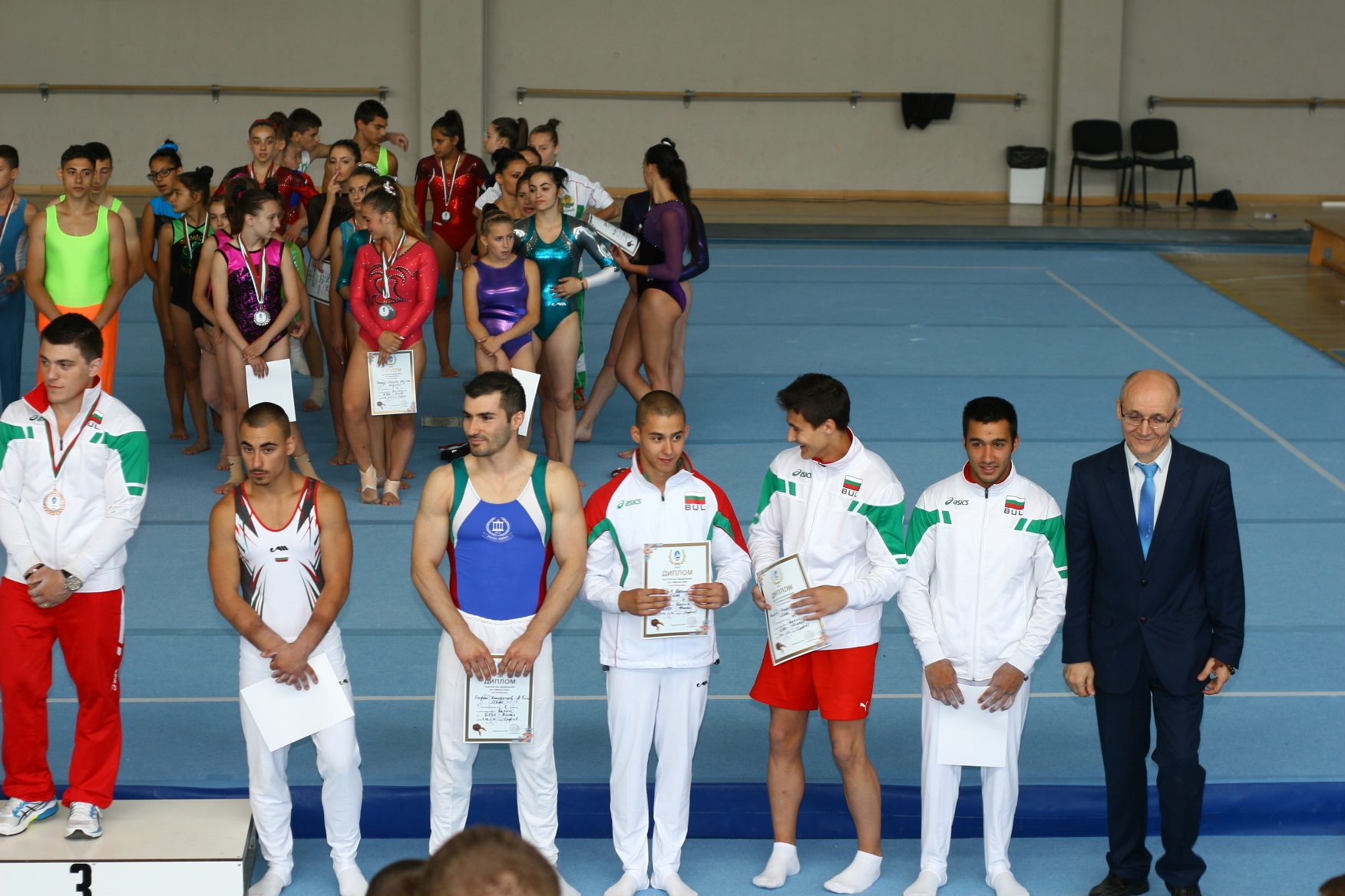 PhD student Stefan Kolimechkov was ranked 5th in the Men's Rings Final
