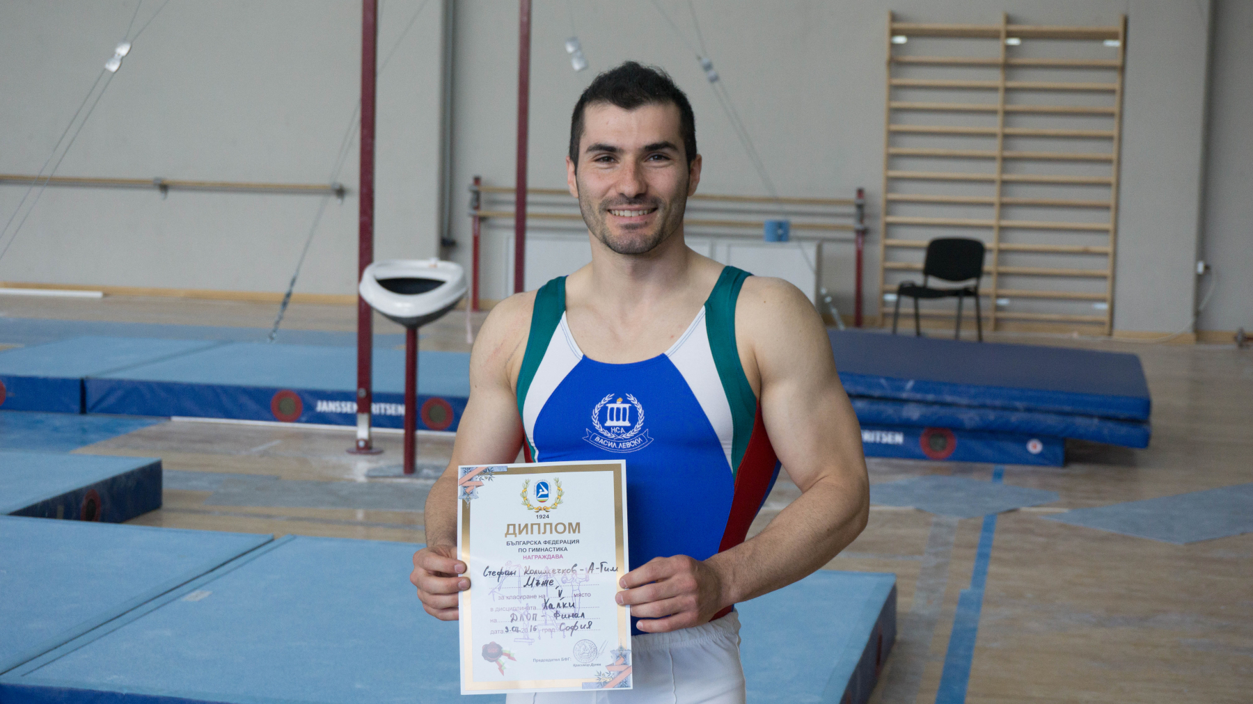 STEFAN KOLIMECHKOV - MEN'S RINGS FINAL at the 2016 NATIONAL CHAMPIONSHIPS