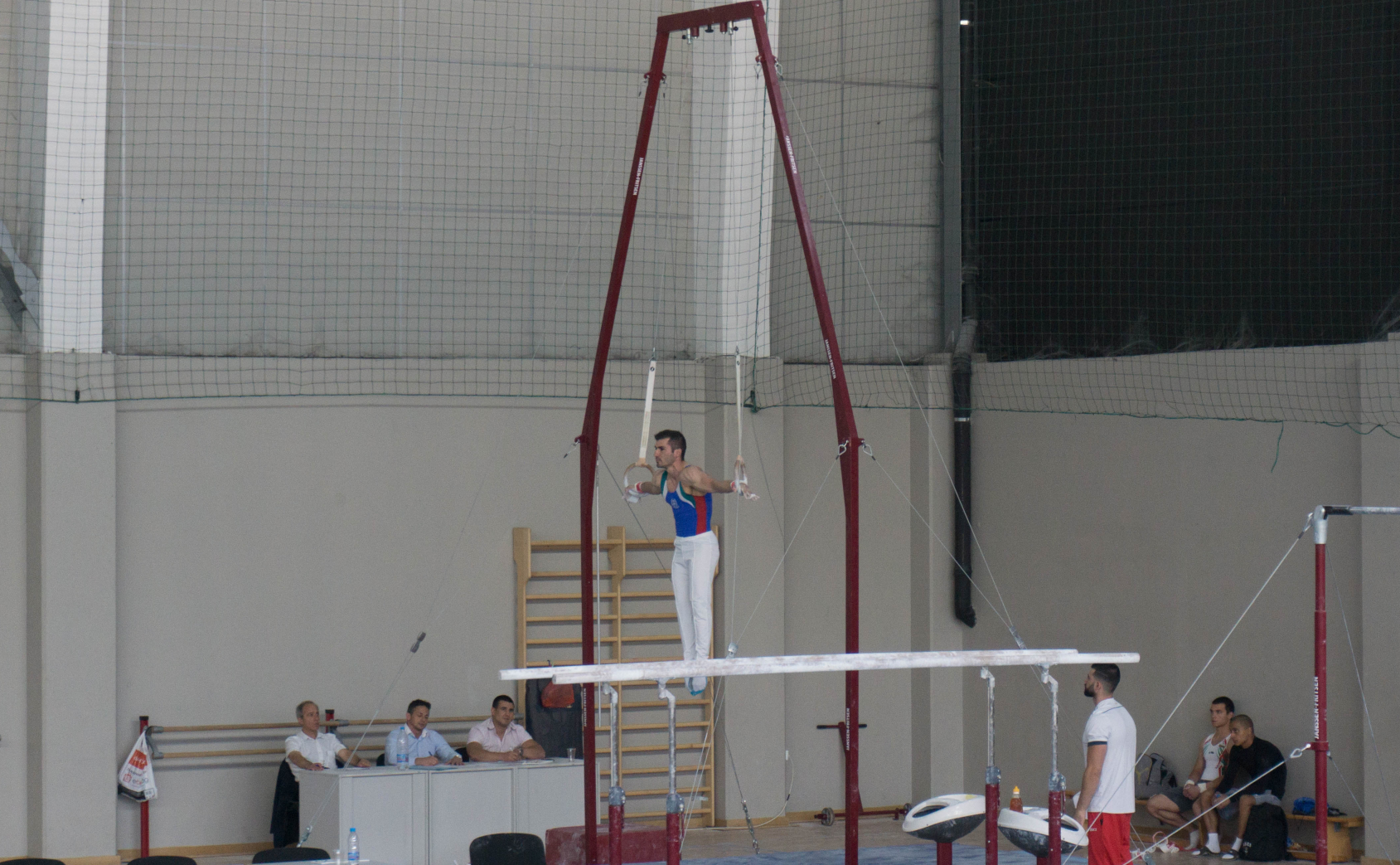 Gymnastics - Iron Cross at Arena Armeec Sofia