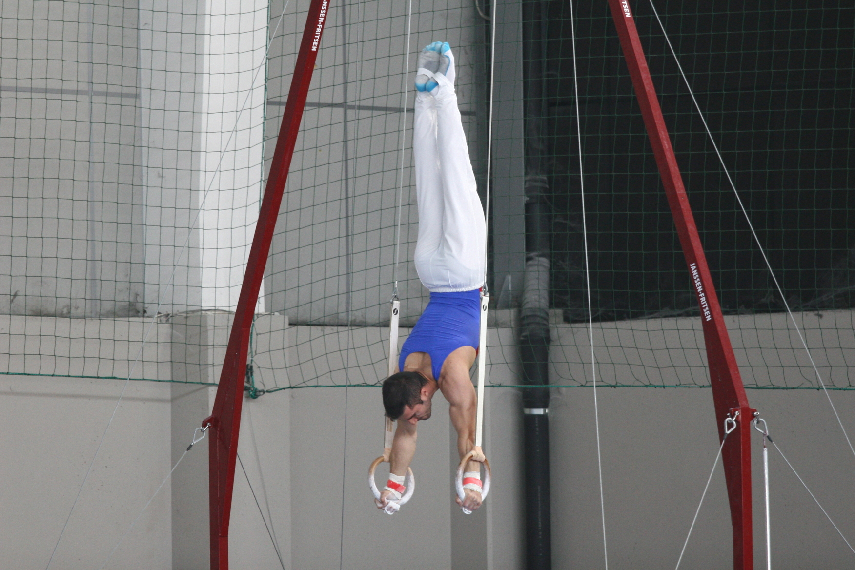 Gymnastics - Handstand on Rings at the 2016 Nationals