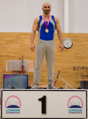 Stefan Kolimechkov - London Rings Champion for the third consecutive year