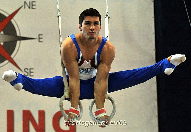 Straddle on Rings - Stefan Kolimechkov