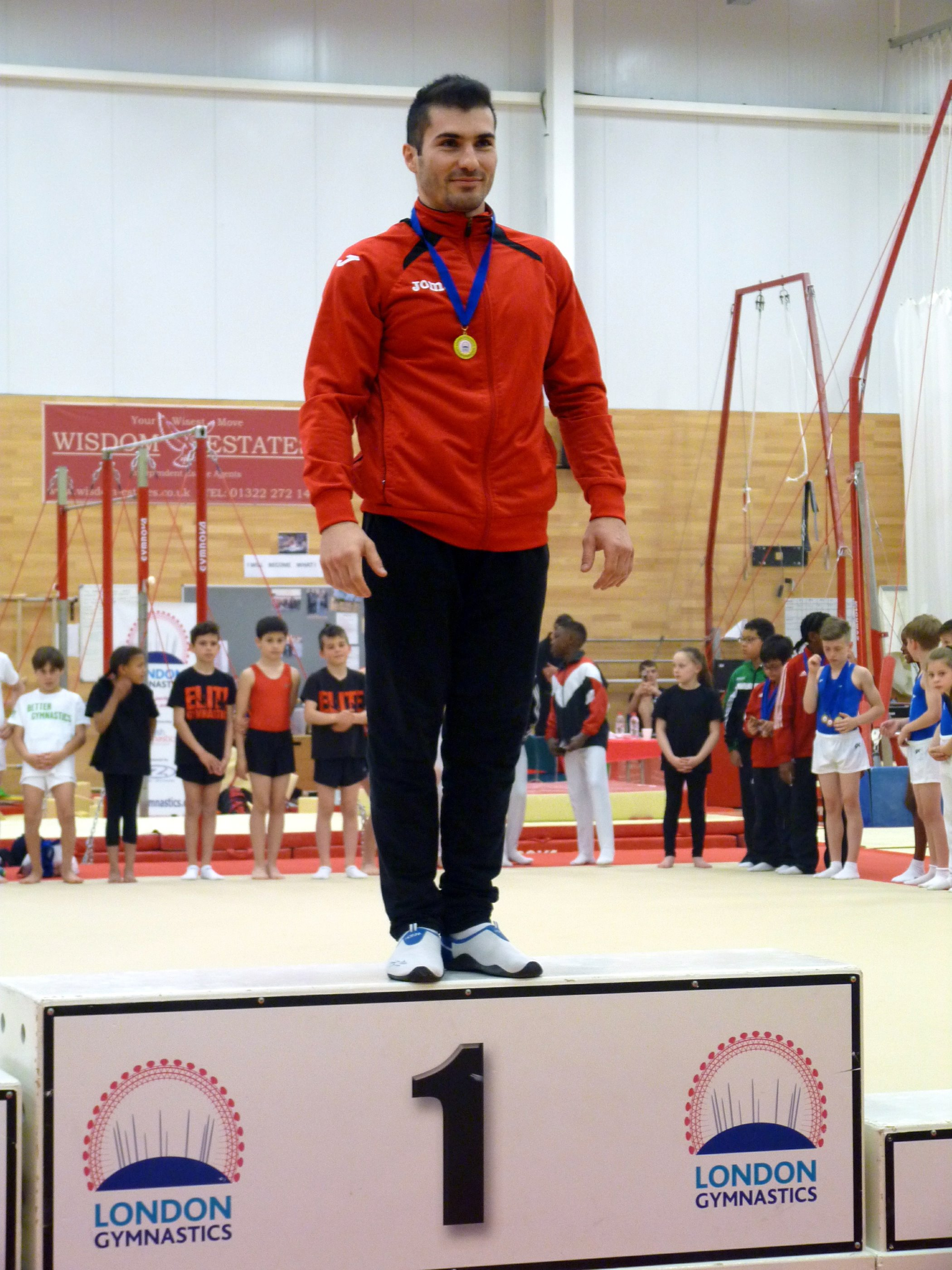 Mr Stefan Todorov Kolimechkov - London Champion
