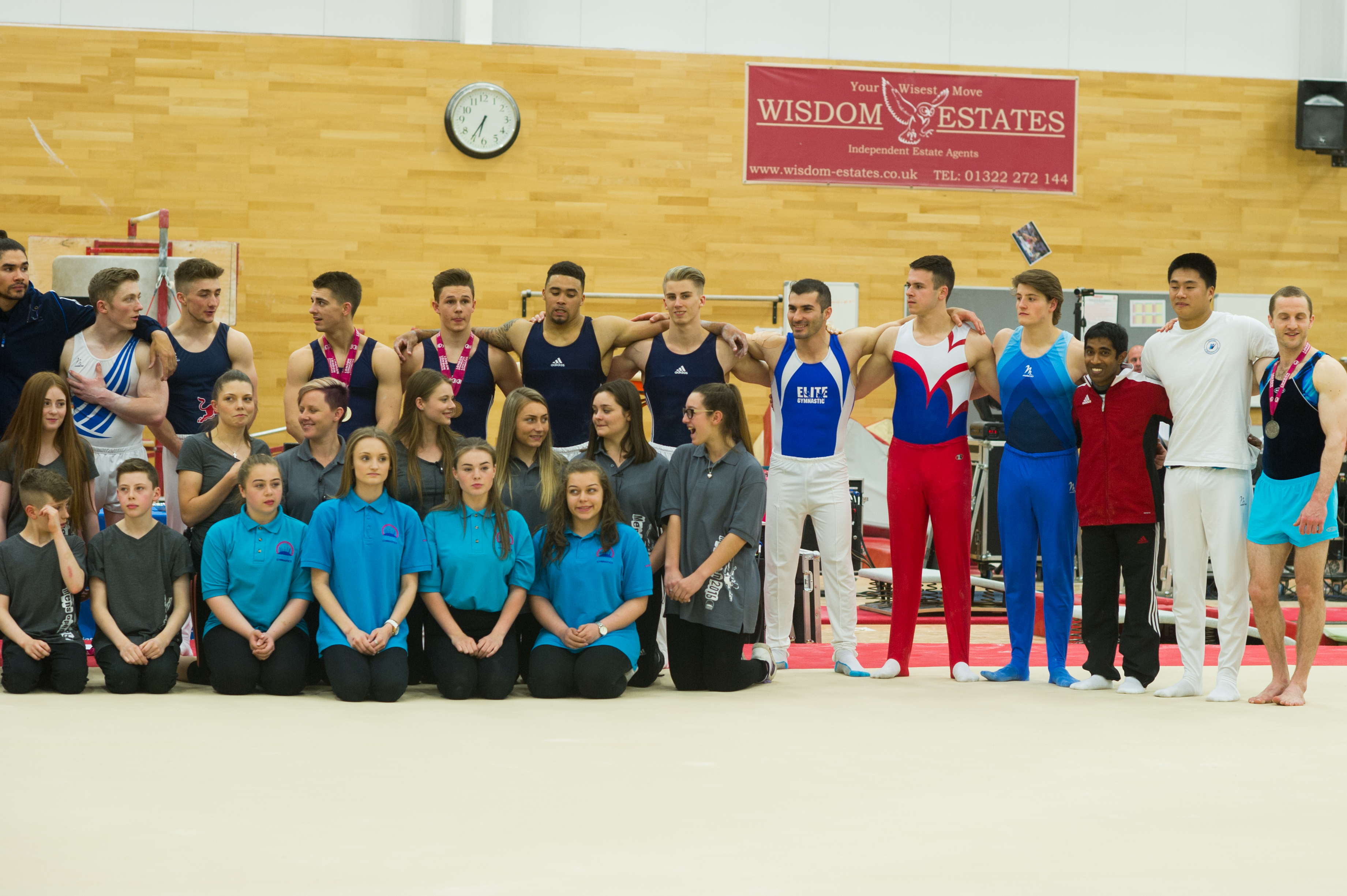 World Class Gymnasts at the Men's London Open