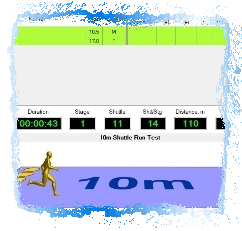 Software for Assessing Cardiorespiratory Fitness in Children by applying the 10m Beep Test