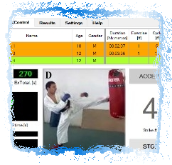 Software for the Karate Specific Aerobic Test (KSAT)