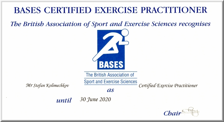Certified Exercise Practitioner