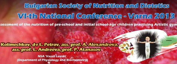 Assessment of the nutrition and the physical development of pre-school and initial school-age children practising artistic gymnastics
