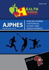 African Journal for Physical Activity and Health Sciences 2016