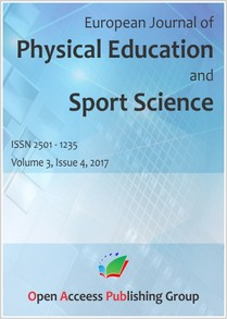 European Journal of Physical Education and Sport Science Vol.3/2017