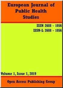 European Journal of Public Health Studies