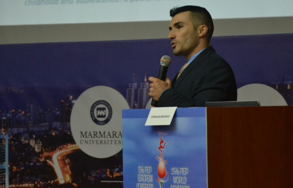 Dr Stefan Kolimechkov at the 13th FIEP European Congress in Istanbul 2018