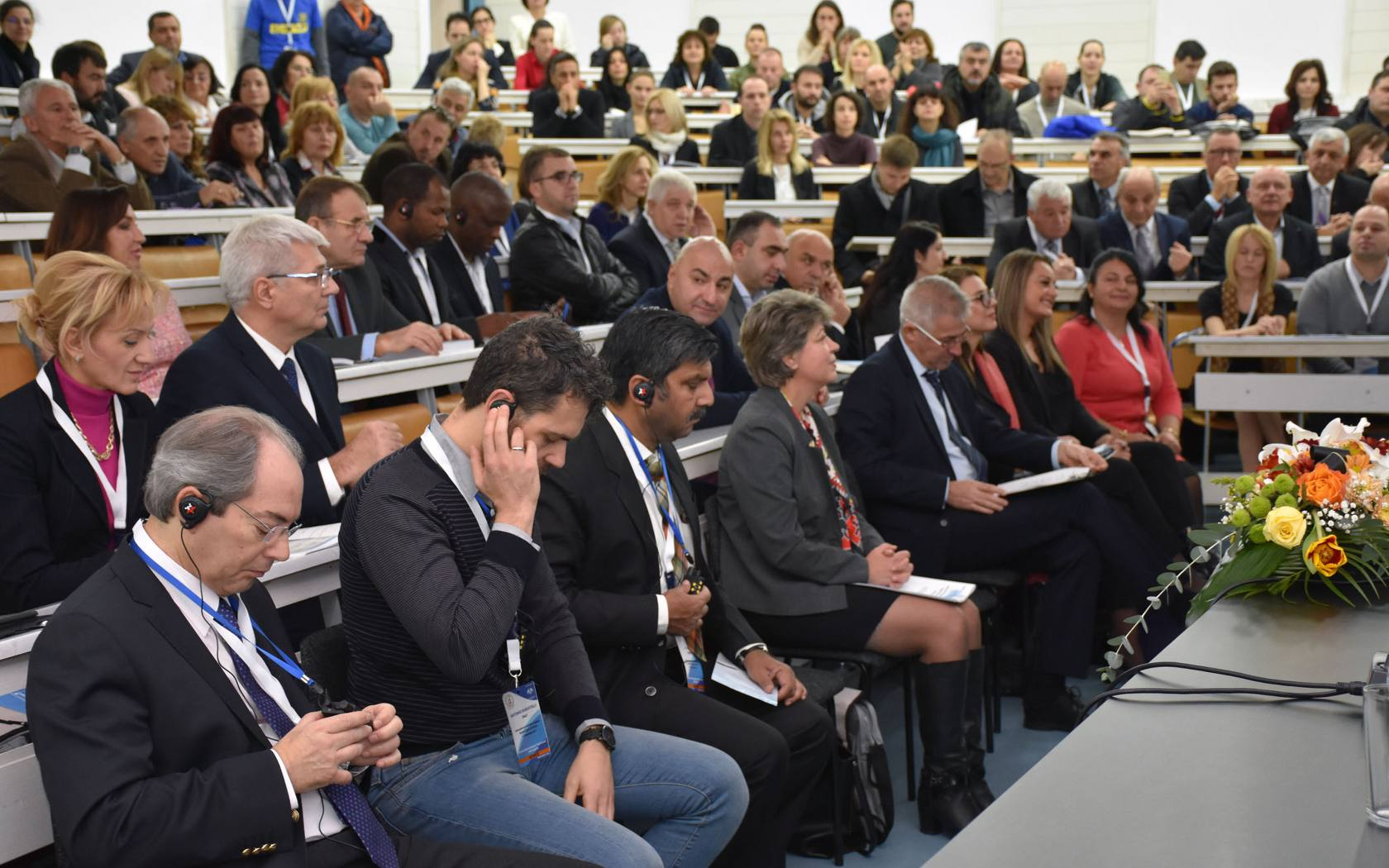 Delegates at the International Congress of Applied Sports Sciences, Sofia