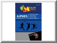 African Journal for Physical Activity - Nutrition and physical develipment assessment