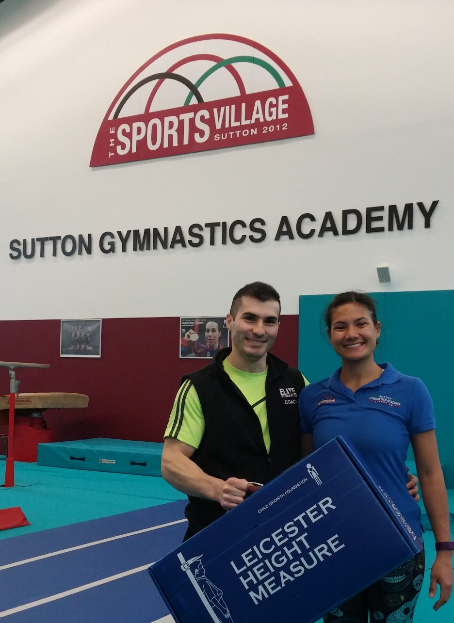 Physical fitness assessment at Sutton Gymnastics Academy