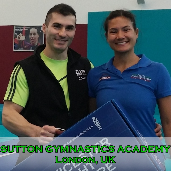 PhD Research at Sutton Gymnastics Academy in London