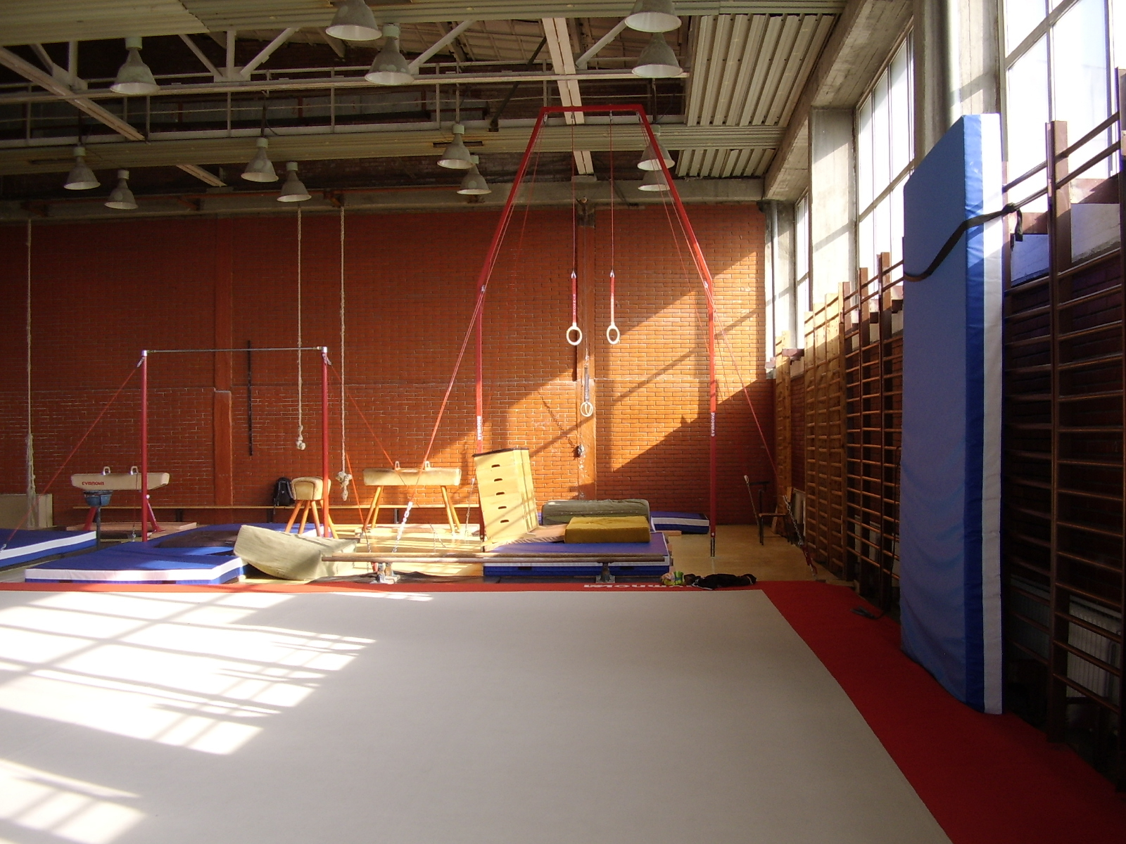 Bruno Grandi Gymnastics Hall at the NSA