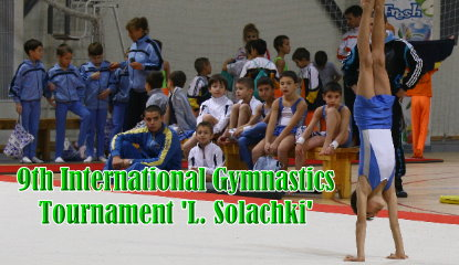 9th International Gymnastics Tournament L. Solachki 2012