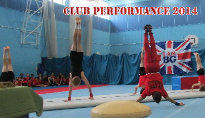 2014 Club Performance - Elite Gymnastics