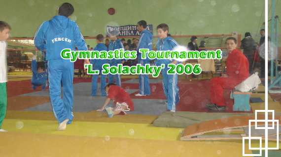 Gymnastics Tournament 'L. Solachky'